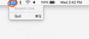Scratch Link (スクラッチリンク)の有効化