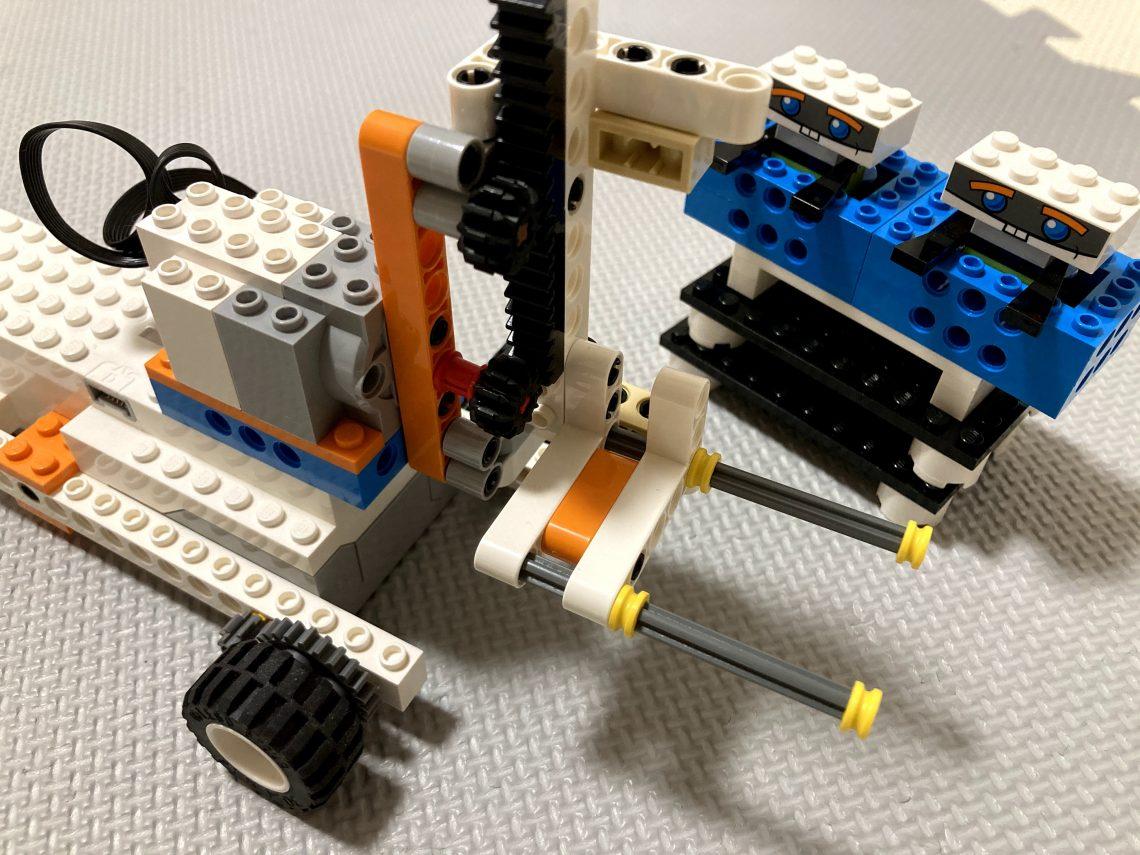 レゴブーストのフォークリフトの作り方