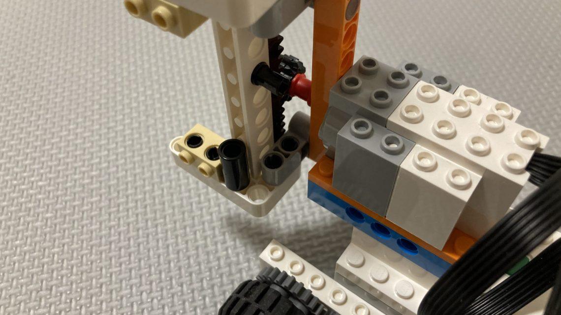 レゴブーストのラックアンドピニオンの使い方