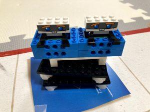 レゴブーストの荷物組み立て