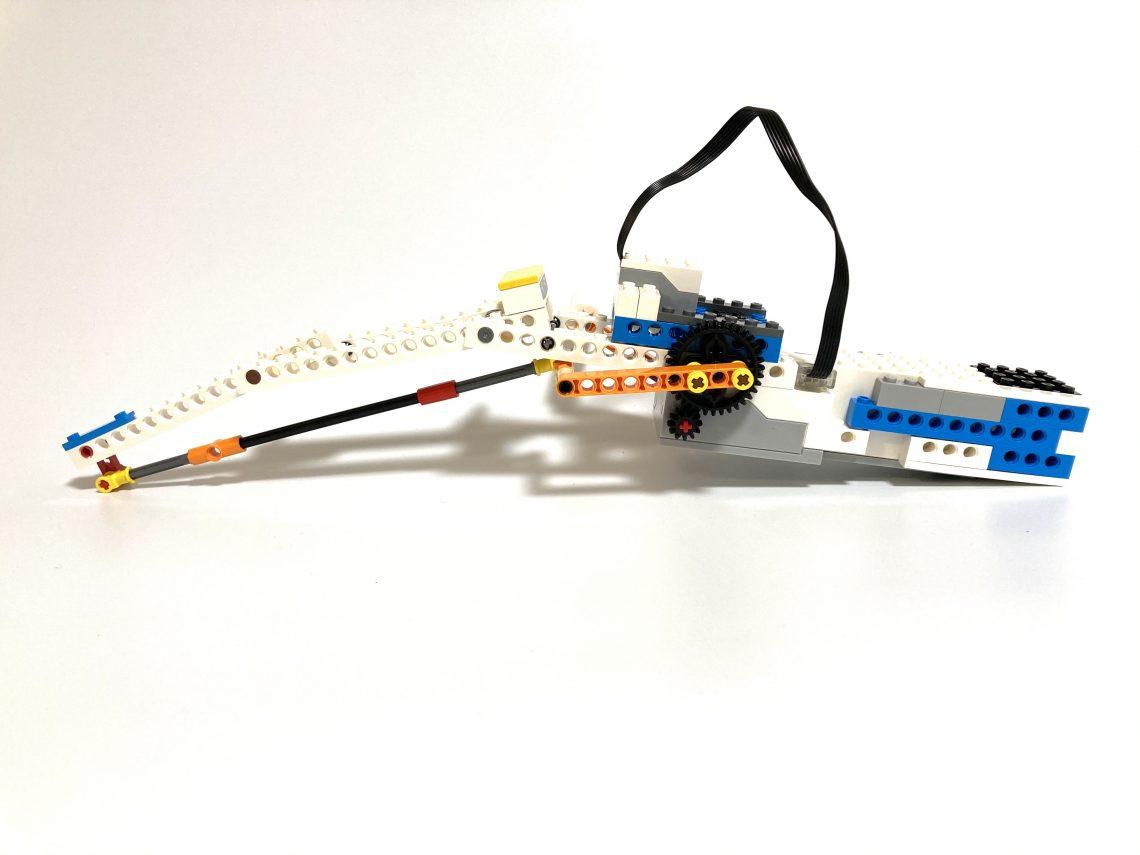 【レゴ組立図】レゴブーストを使ったつりざおコントローラーの組み立て方