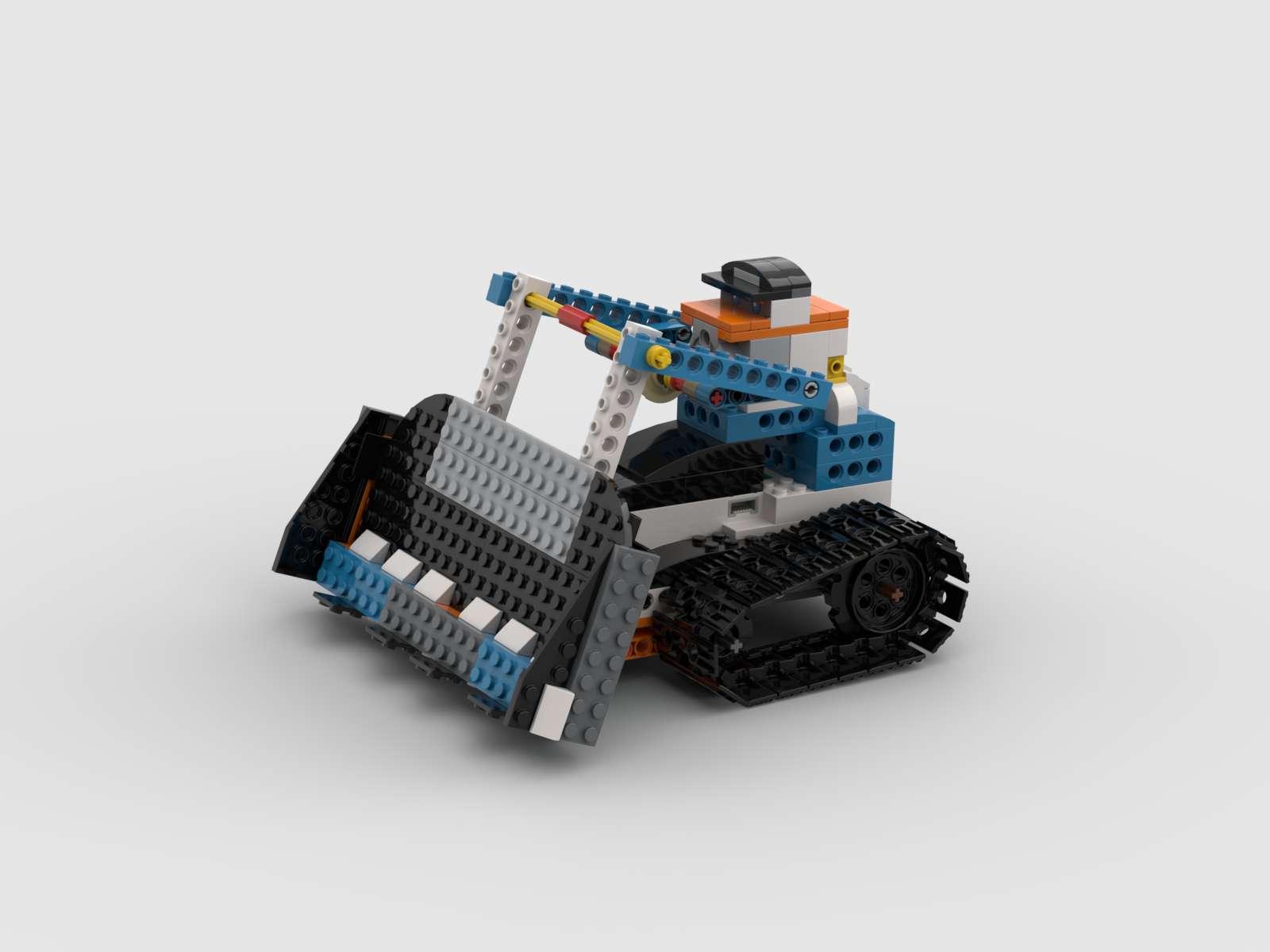 レゴブースト×STEAM教育!自宅でロボットプログラミング【2.ブルドーザー】