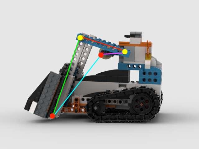 レゴブーストでリンク機構を作る条件